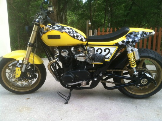 1978 Yamaha XS650 L Side