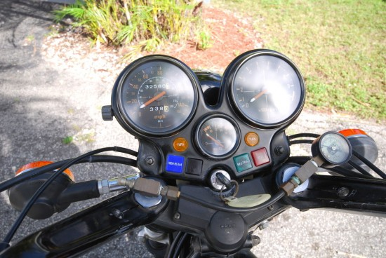1979 Honda CBX Dash Palm