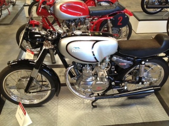 1962 Moto Parilla 250 GS L Side