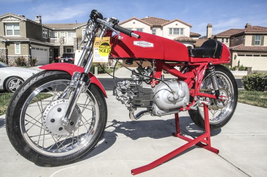 1967 Aermacchi 350 Road Racer L Front