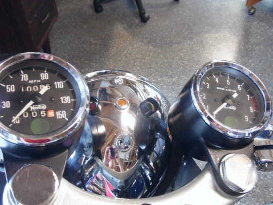 1973 Norton Commando Interstate Clocks