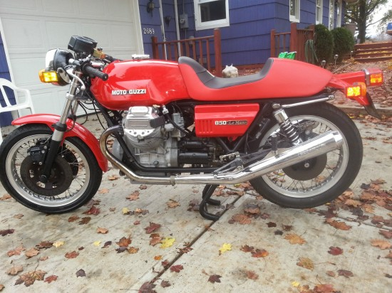 1977 Moto Guzzi LeMans Clone L Side