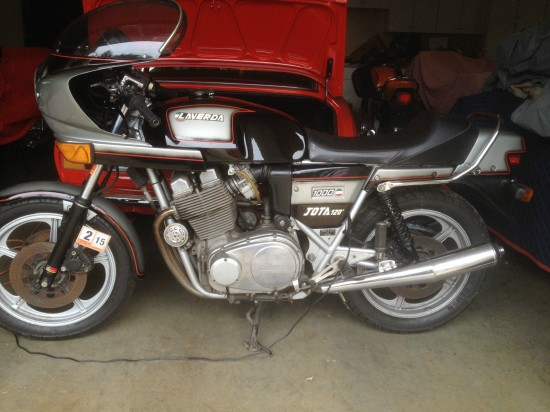 1982 Laverda Jota 120 L Side