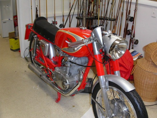 1967 Ducati Diana 250 R Front