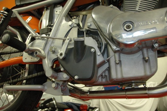 1974 Laverda SFC R Engine