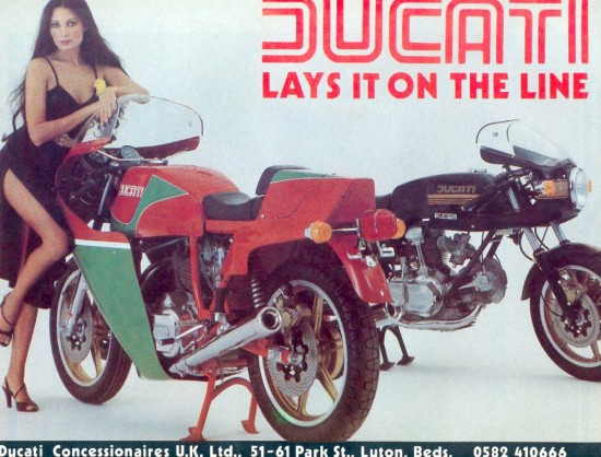1977 Ducati 900 Super Sport Advert