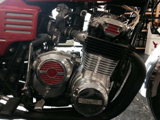 1979 Benelli 750 Sei R Engine