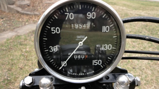 1952 Vincent Rapide Dash