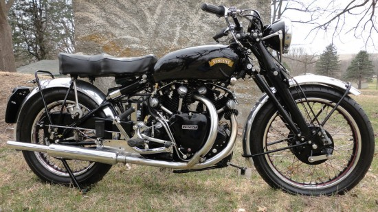 1952 Vincent Rapide R Side
