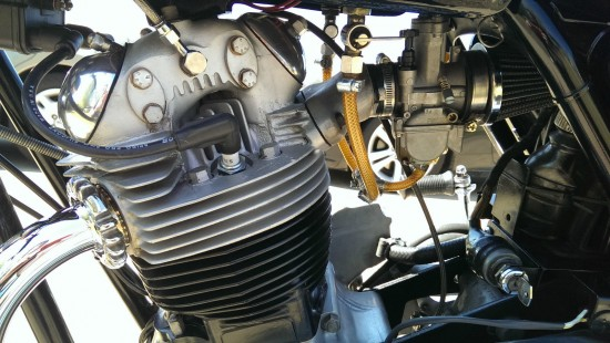 1974 Norton Commando L Engine