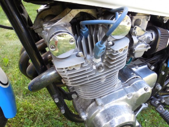 1979 Suzuki GS1000S Engine