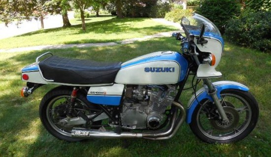 1979 Suzuki GS1000S R Side