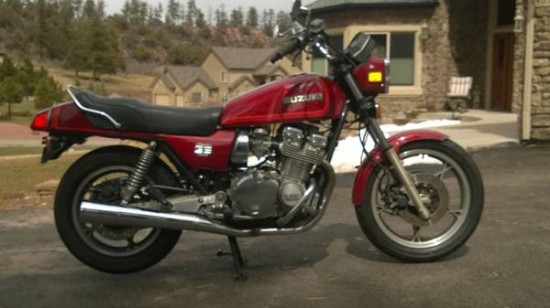 1980 Suzuki GS1100E R Side