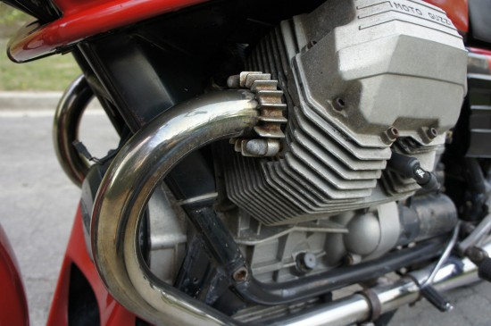 1984 Moto Guzzi LeMans III Red L Engine
