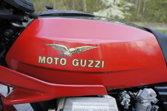 1984 Moto Guzzi LeMans III Red Tank