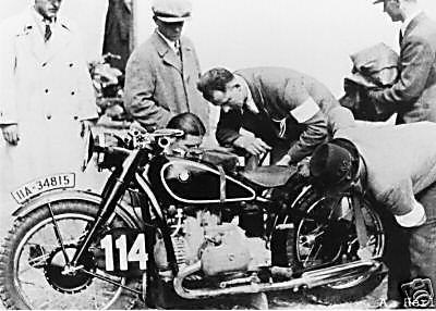 Not a R5 but a supercharged BMW entered in the 1935 ISDT
