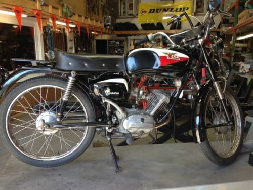 1967 Moto Morini Corsarino R Side Day