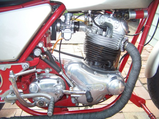 1970 Norton Custom R Engine