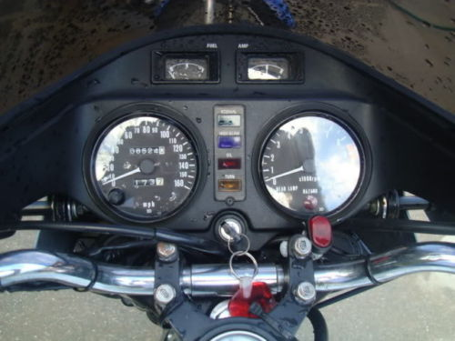 1978 Kawasaki Z1R Turbo Dash