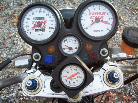 1979 Honda CBX Turbo Gauges