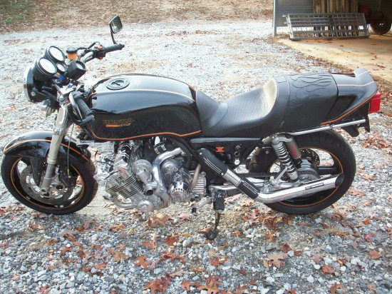 1979 Honda CBX Turbo L Side