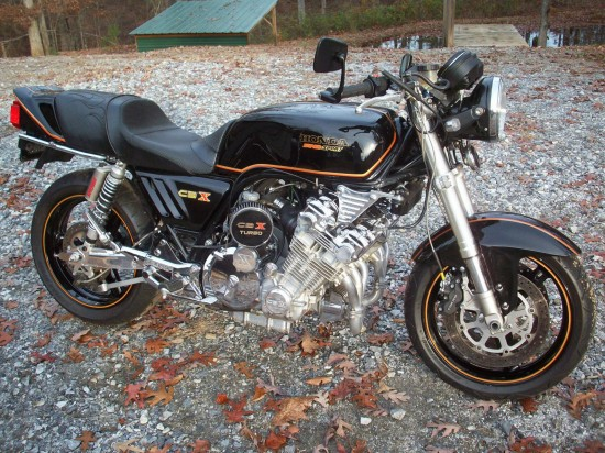 1979 Honda CBX Turbo R Side
