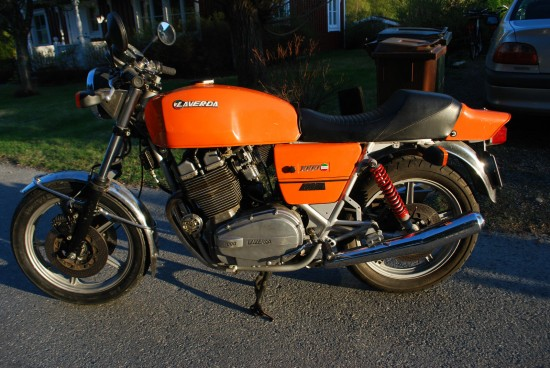 1981 Laverda Jota L Side