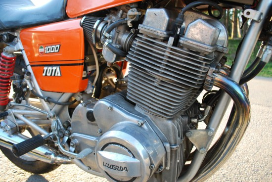 1981 Laverda Jota R engine
