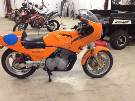 1984 Laverda RGS 1000 R Side
