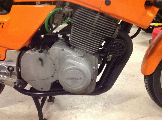 1984 Laverda RGS 1000 R Side Engine