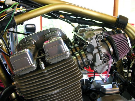 1988 Laverda SFC 1000 Engine Detail