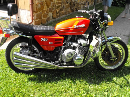 1978 Benelli 750 Sei Red R Side