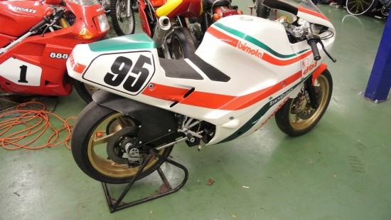 1986 Bimota DB1R R Rear
