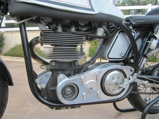 1962 Norton Manx L Side Engine