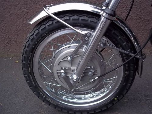 1972 Laverda SF2 L Front Wheel