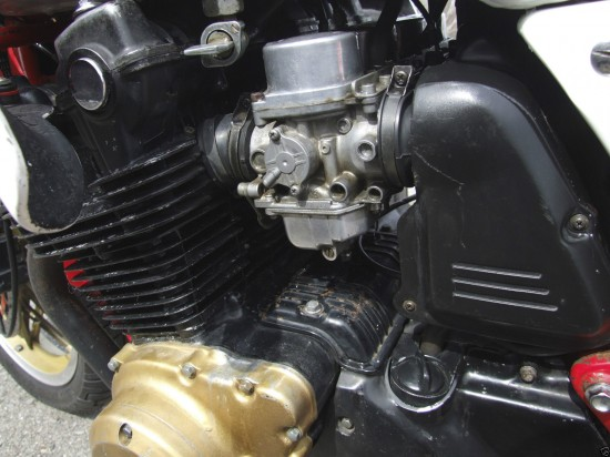 1981 Honda CB1100RB L Side Engine