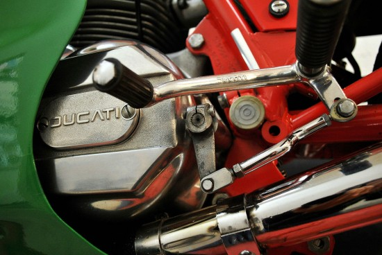 1983 Ducati MHR L Side Detail