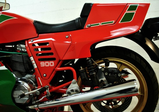 1983 Ducati MHR L Side Rear