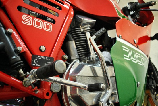 1983 Ducati MHR R Side Detail