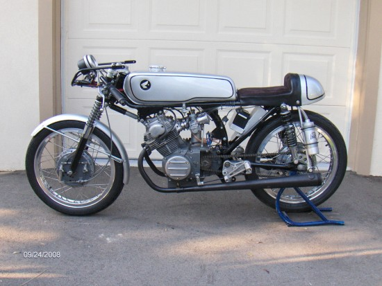 1964 Honda CB175 Roadracer L Side Naked