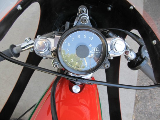 1967 Ducati 250 Mark 3 Race Bike Dash