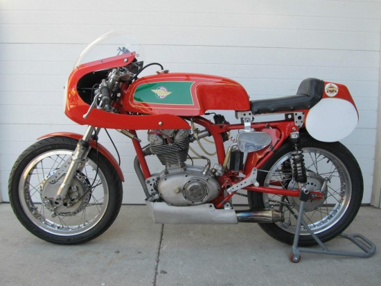 1967 Ducati 250 Mark 3 Race Bike L Side