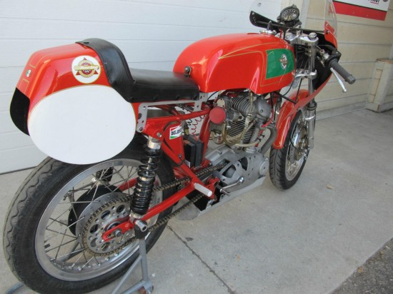 1967 Ducati 250 Mark 3 Race Bike R Rear