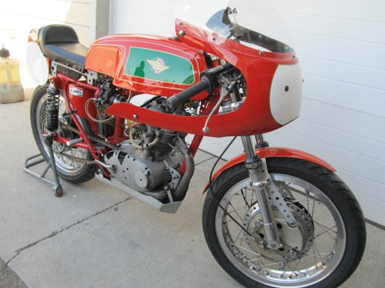 1967 Ducati 250 Mark 3 Race Bike R Side Front
