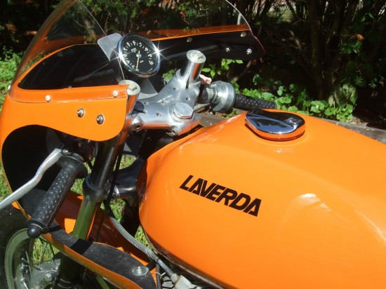 1971 Laverda SF Racebike L Side Detail