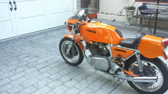 1974 Laverda SFC L Rear