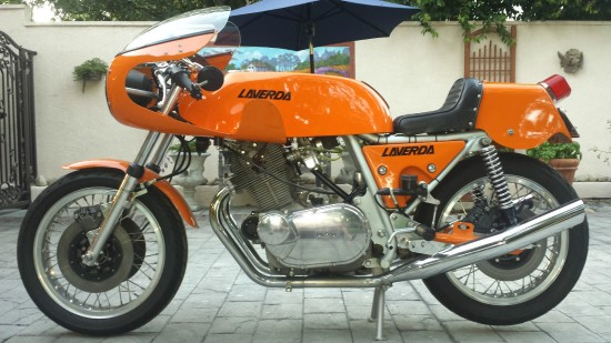 1974 Laverda SFC L Side