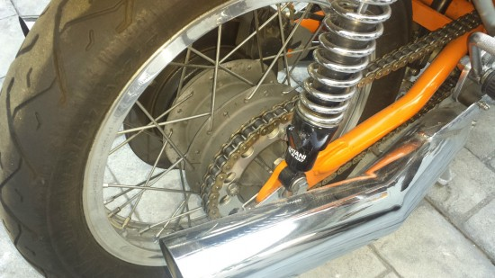 1974 Laverda SFC R Rear Wheel
