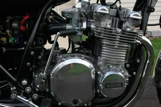 1975 Kawasaki Z1 Engine R Side