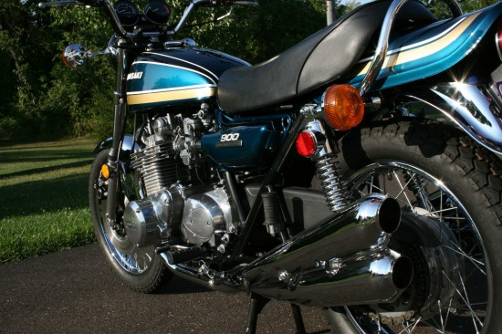 1975 Kawasaki Z1 L Rear Low